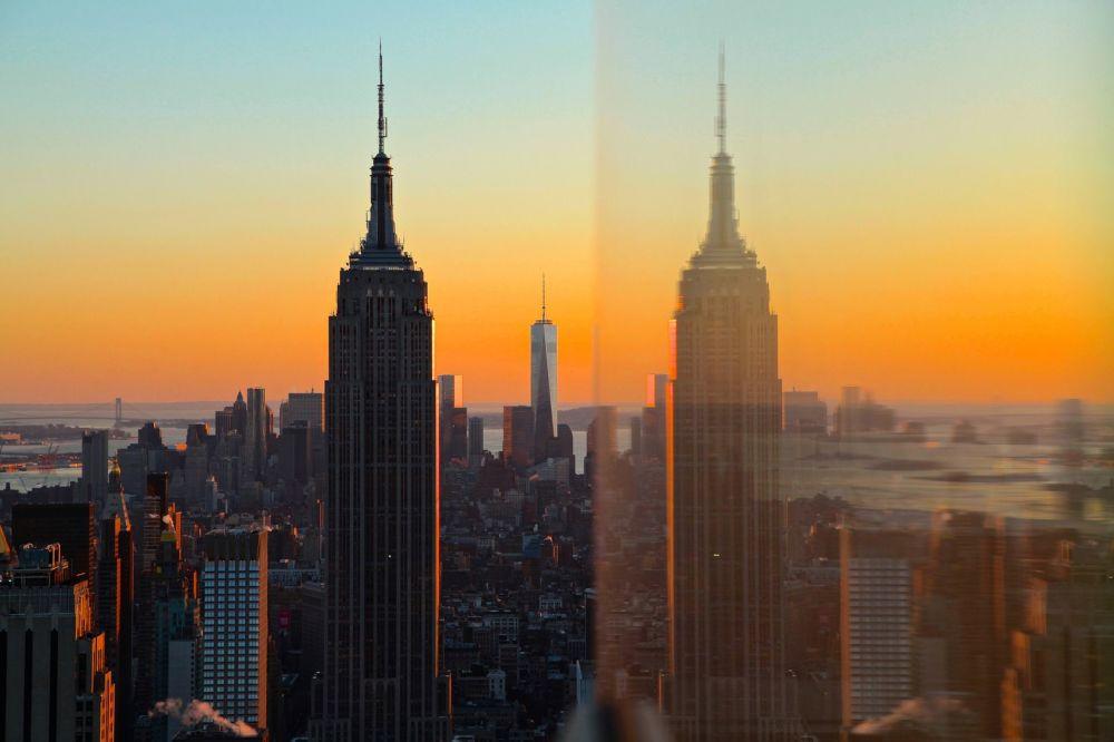 Empire State Building – wieżowiec w Nowym Jorku w Stanach Zjednoczonych
