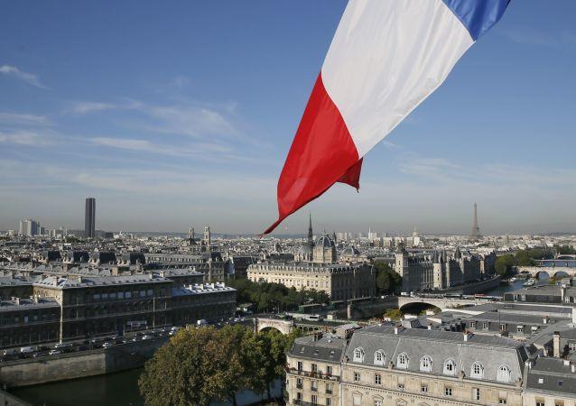 Widok na Paryż, Francja