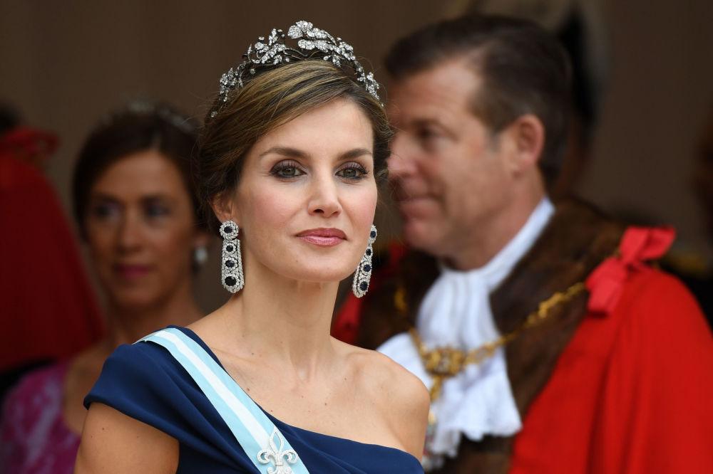Letycja, królowa Hiszpanii, żona króla hiszpańskiego Filipa VI Burbona