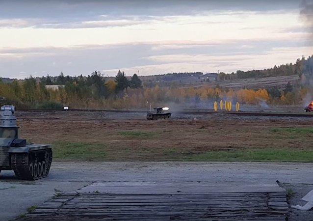 Nowe rosyjskie roboty bojowe