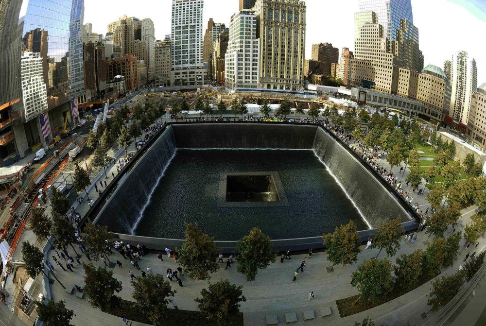 Pomnik ofiar zamachów terrorystycznych 11 września w Nowym Jorku