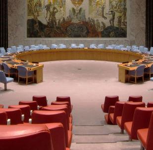 Sala posiedzeń Rady Bezpieczeństwa ONZ w Nowym Jorku