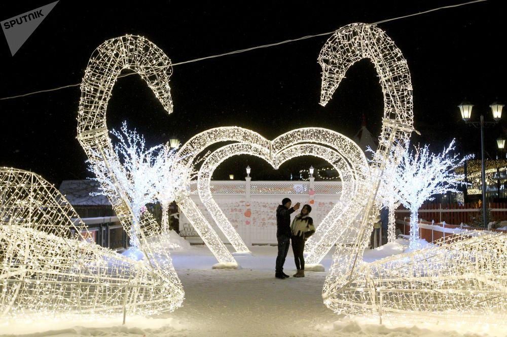 Aleja Zakochanych w Kazaniu