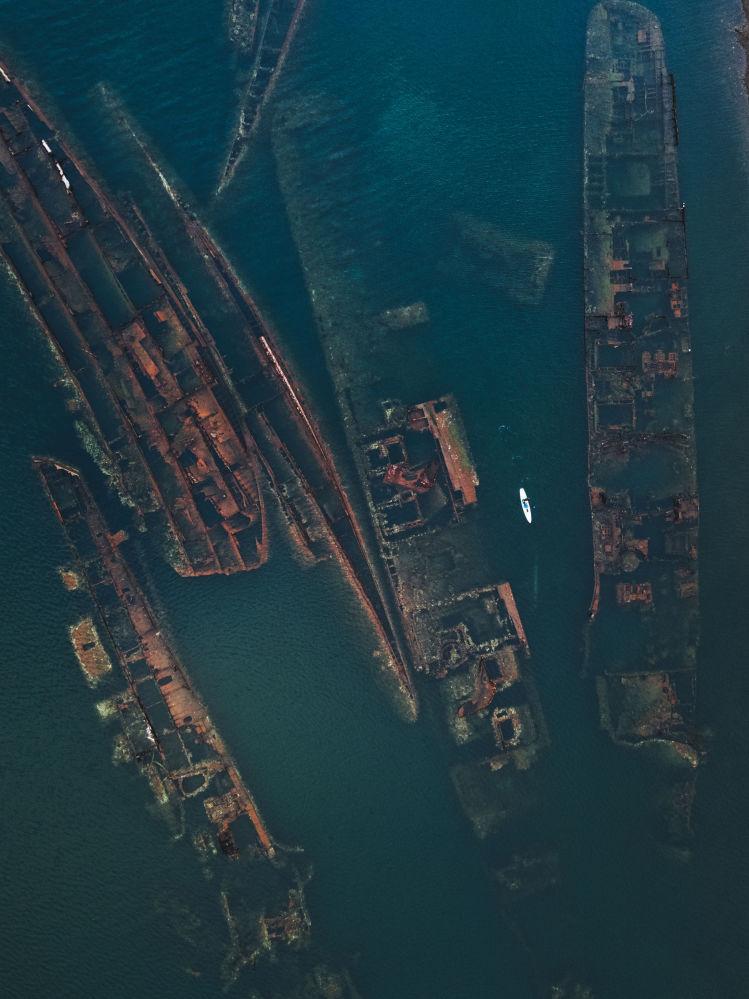 Zatopione statki w Kraju Nadmorkim