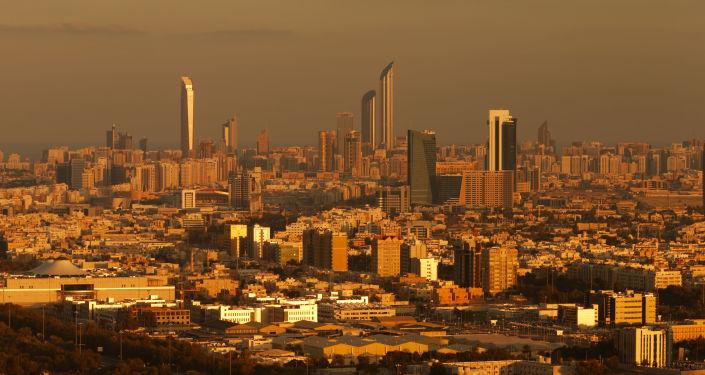 Widok na Abu Zabi i ZEA