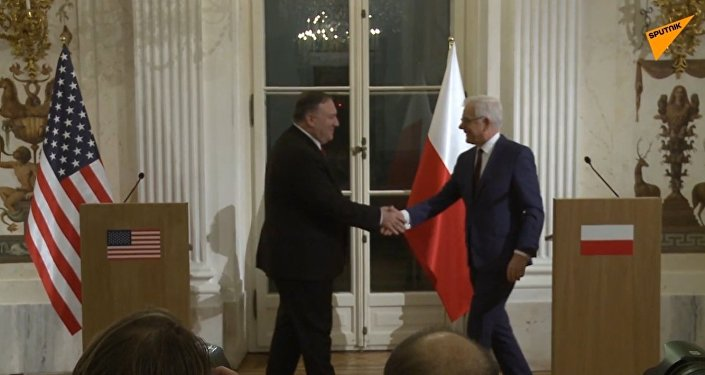 Pompeo w Warszawie