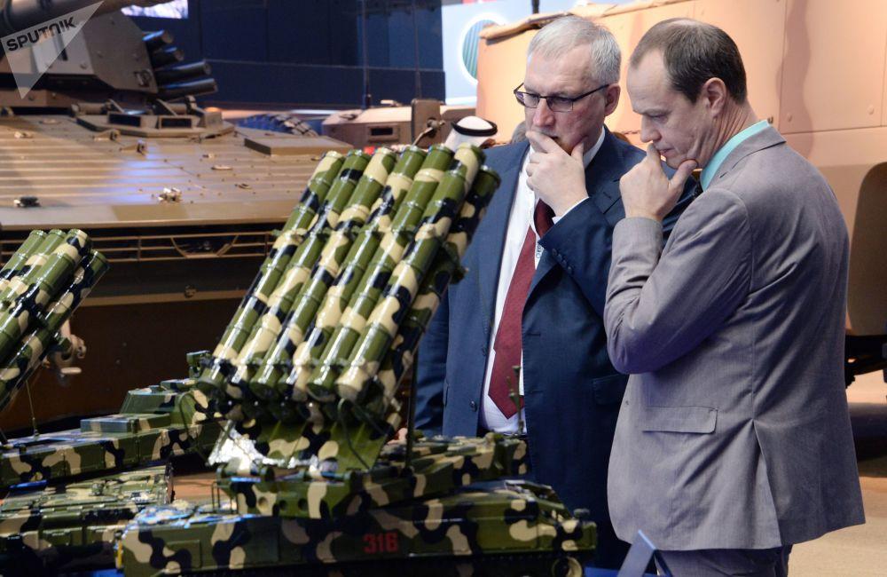 Modele sprzętu wojskowego koncernu Ałmaz-Antej