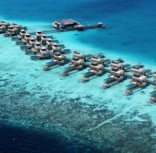 Wille dla turystów na Malediwach