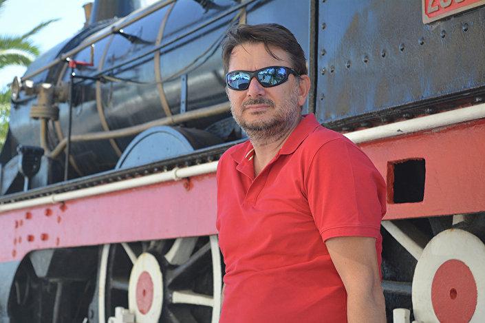 """Przewodniczący Komitetu Organizacyjnego Festiwalu Podwodnej Fotografii """"Marmara"""" Osman Ürper"""