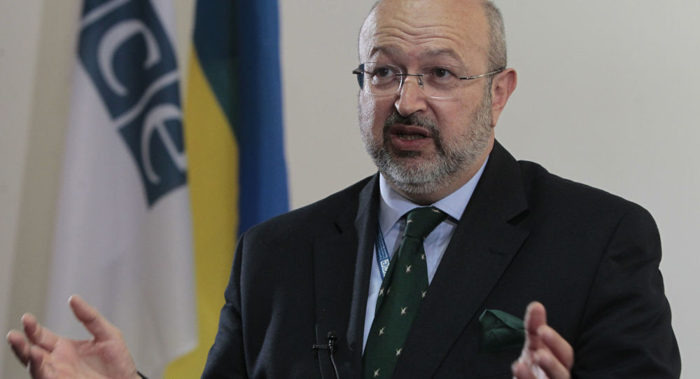 Sekretarz generalny OBWE Lamberto Zannier