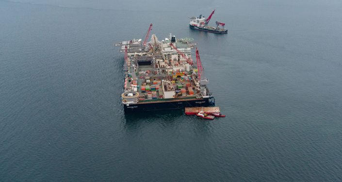 Pioneering Spirit na Morzu Bałtyckim