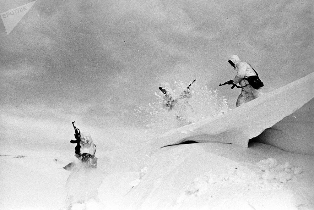 Manewry wojskowe Dwina, 1970 r.