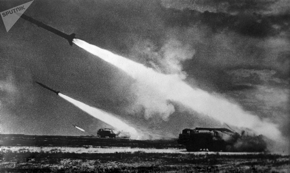 Wyrzutnie rakietowe. ZSRR, 1968 r.