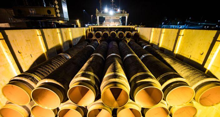 Nord Stream-2, Mukran, Niemcy