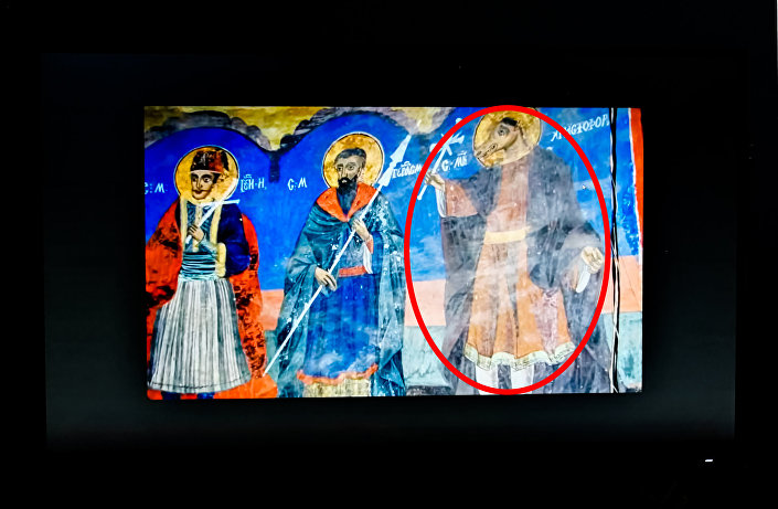 Serbski fresk