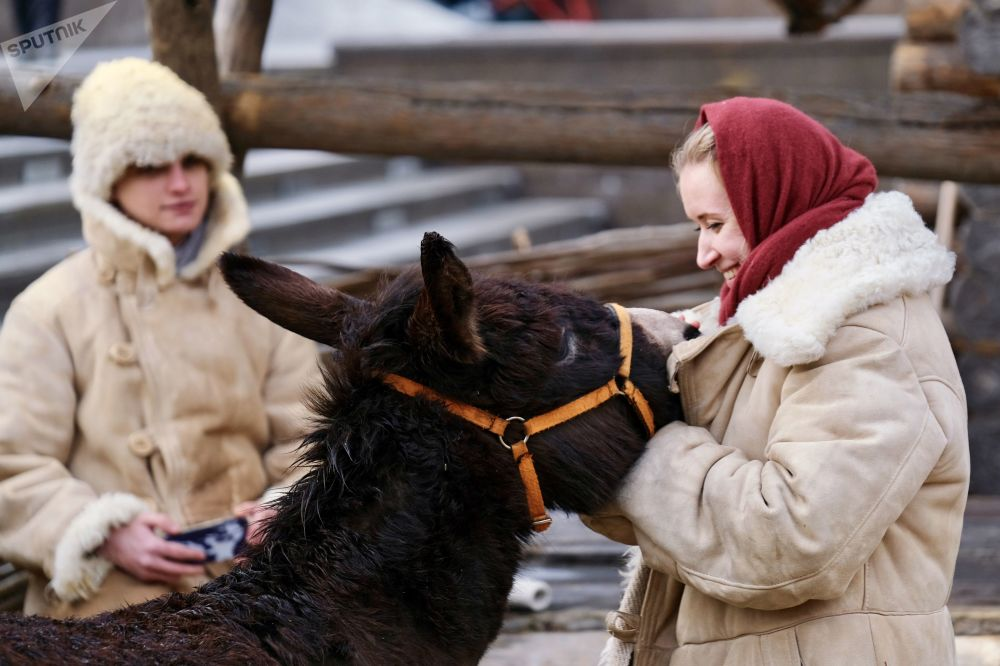 Maslenica w Moskwie