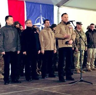 Prezydent Andrzej Duda w Żaganiu, 4 marca 2019