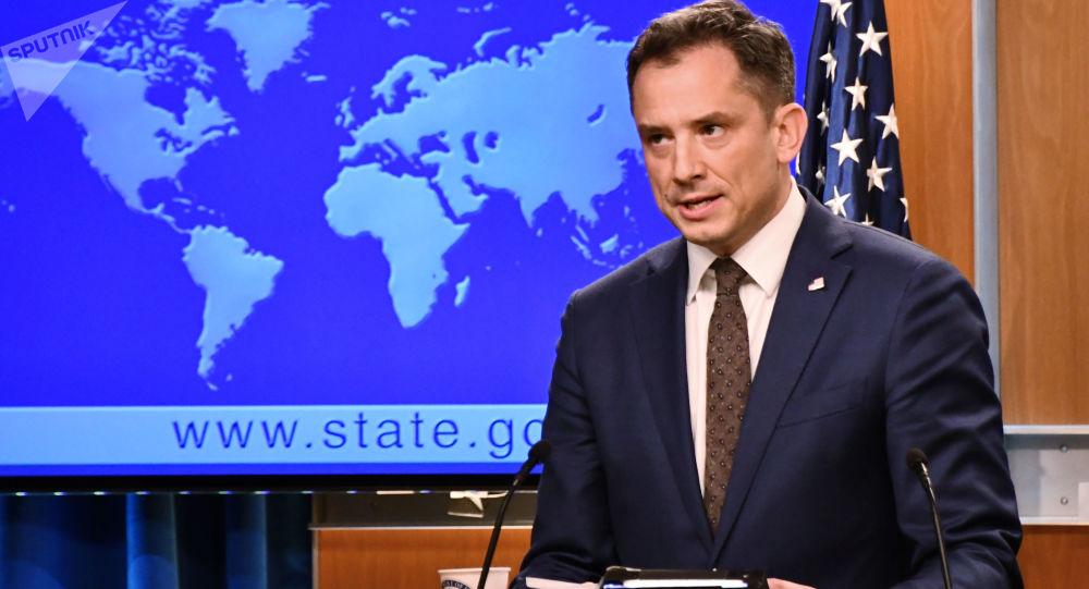 Zastępca rzecznika Departamentu Stanu USA Robert Palladino
