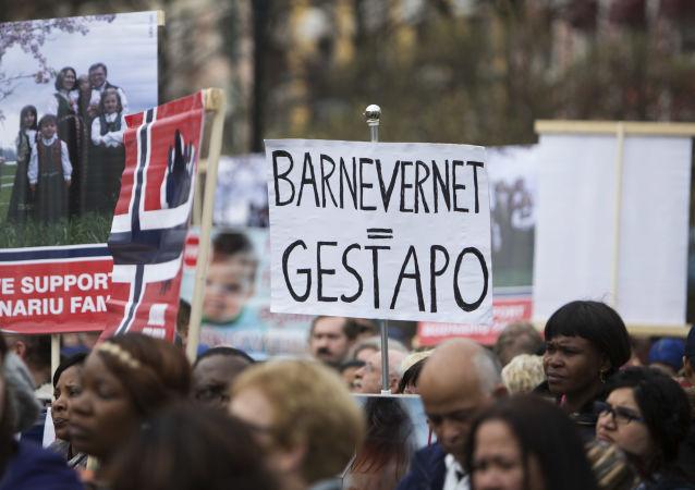 Akcja protestu Stop Barnevernet w Norwegii