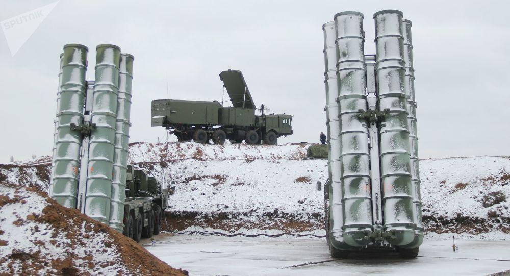 Wyrzutnie rakietowe S-400 Triumf