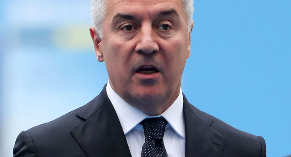 Prezydent Czarnogóry Milo Dukanovic