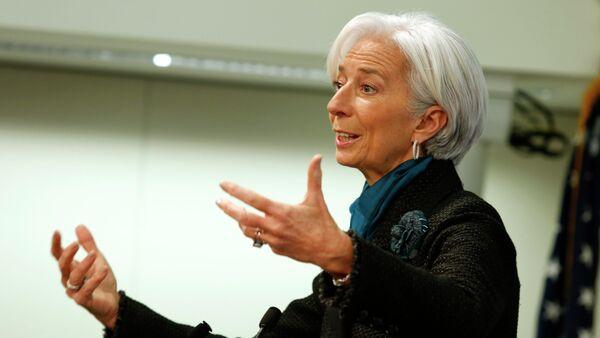 Dyrektorka Międzynarodowego Funduszu Walutowego Christine Lagarde - Sputnik Polska