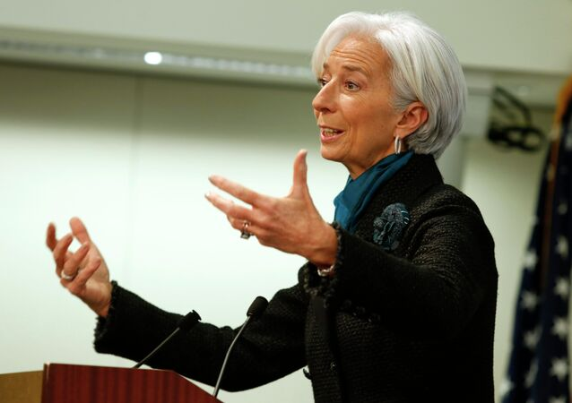 Dyrektorka Międzynarodowego Funduszu Walutowego Christine Lagarde