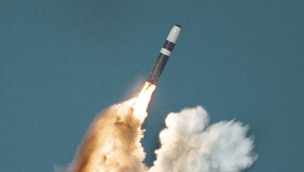 Wystrzelenie rakiety Trident II - Sputnik Polska
