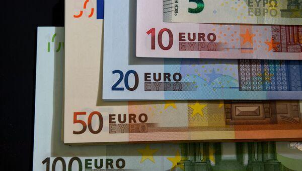 Banknoty euro - Sputnik Polska