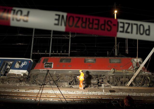Katastrofa kolejowa w Szwajcarii