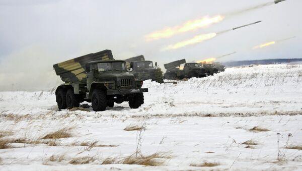 Wyrzutnia rakietowa BM-21 Grad - Sputnik Polska