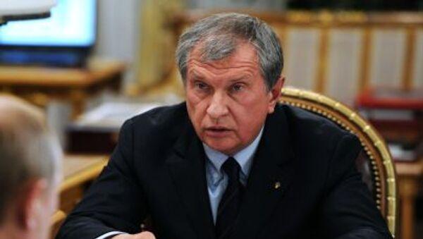 Prezes Rosnieftu Igor Sieczin - Sputnik Polska