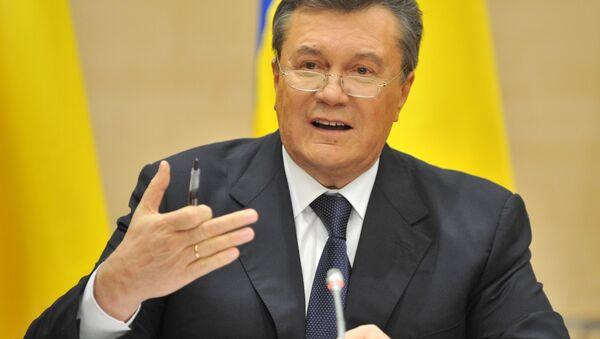 Były prezydent Ukrainy Wiktor Janukowycz - Sputnik Polska