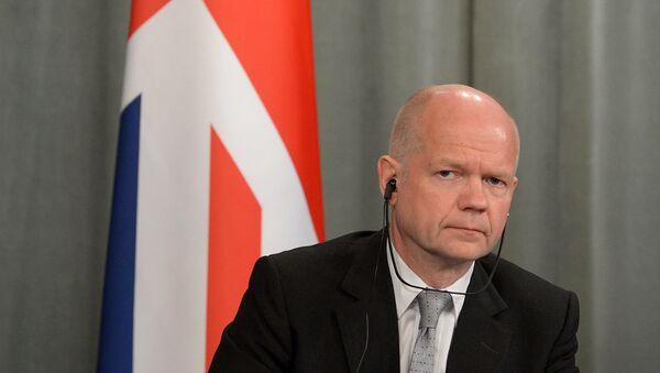 Były minister spraw zagranicznych Wielkiej Brytanii William Hague - Sputnik Polska