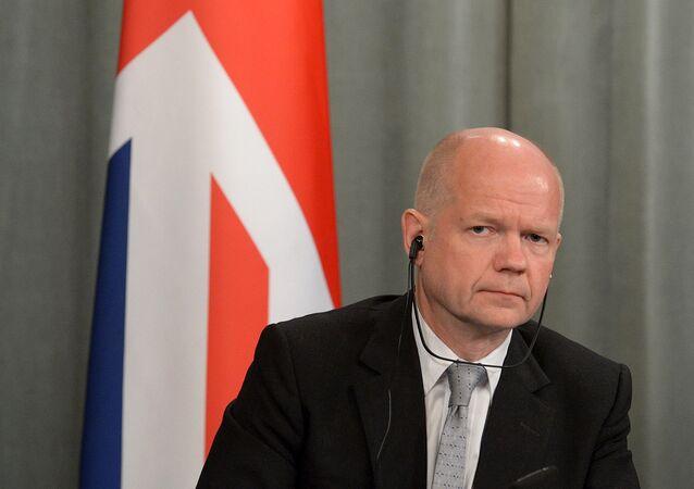 Były minister spraw zagranicznych Wielkiej Brytanii William Hague