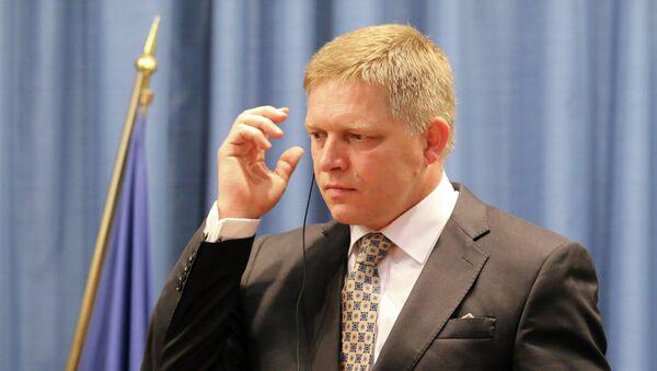 Premier Słowacji Robert Fico - Sputnik Polska