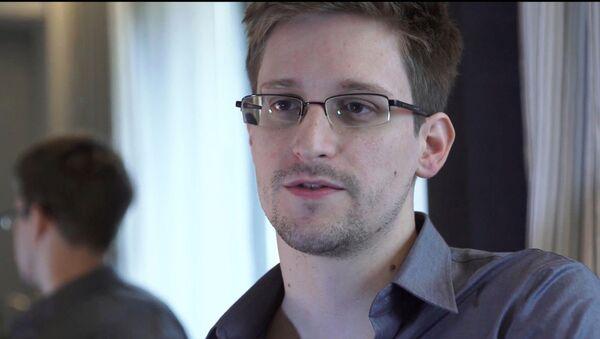 Edward Snowden w filmie Citizenfour (2014) - Sputnik Polska