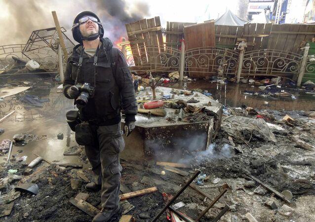 Andriej Stienin, fotokorespondent MIA Rossiya Segodnya