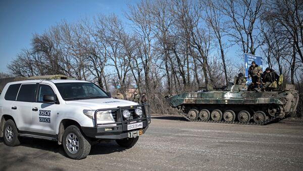 Specjalna misja OBWE na Ukrainie - Sputnik Polska