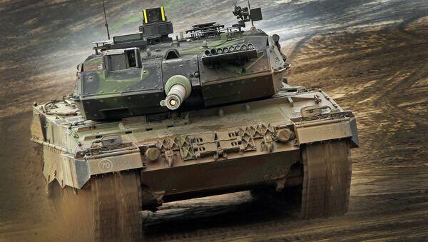 Niemiecki czołg Leopard 2 - Sputnik Polska