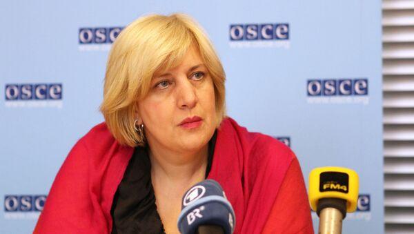 Przedstawicielka OBWE ds. wolności mediów Dunja Mijatović - Sputnik Polska