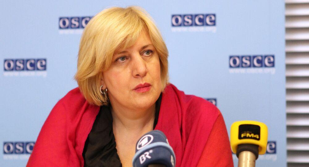 Przedstawicielka OBWE ds. wolności mediów Dunja Mijatović