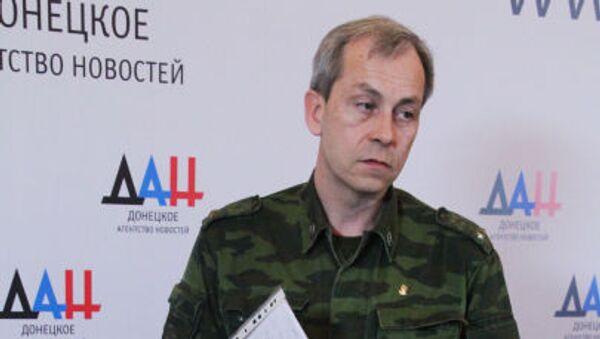 Zastępca dowódcy sztabu DRL Eduard Basurin - Sputnik Polska