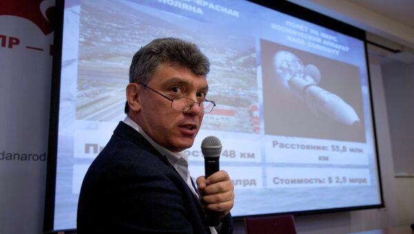 Boris Nemtsov - Sputnik Polska