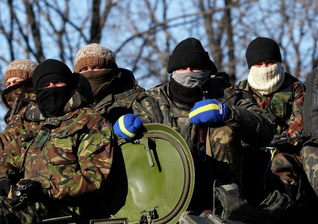Żołnierze ukraińskiej armii