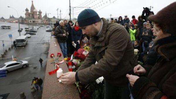 Miejsce zabójstwa Borysa Niemcowa - Sputnik Polska