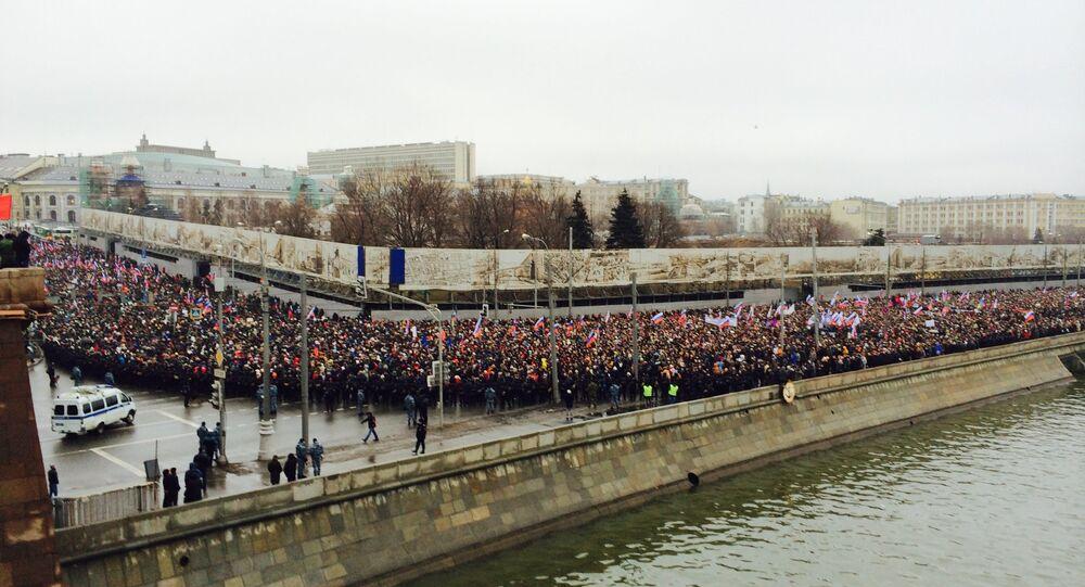 Marsz pamięci Borysa Niemcowa
