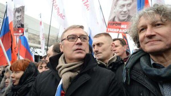 Marsz pamięci Borysa Niemcowa w Moskwie - Sputnik Polska