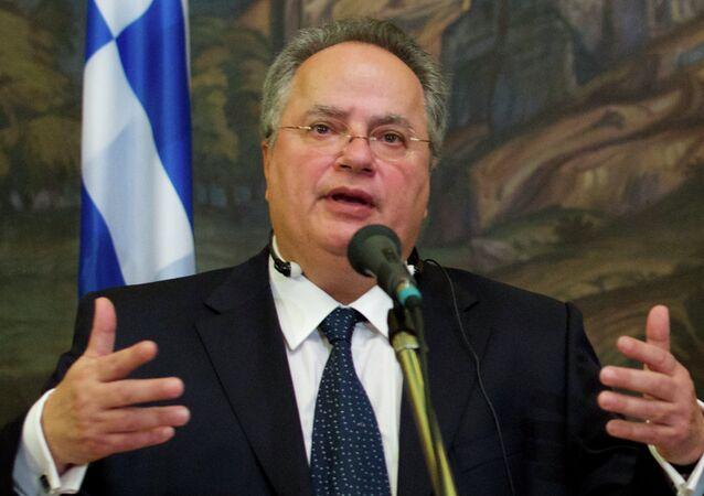 Minister Spraw Zagranicznych Grecji Nikos Kodzias