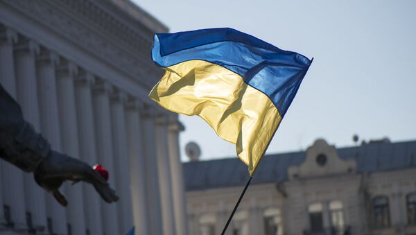 Flaga Ukrainy - Sputnik Polska